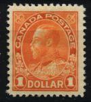 Канада 1911-1925 гг. • Sc# 122 • $1 • выпуск