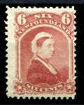 НЬЮФАУНДЛЕНД 1894г. GB# 60 / 6c. UNUSED VF