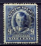 НЬЮФАУНДЛЕНД 1911-16гг. GB# 124 / 9c. / USED VF