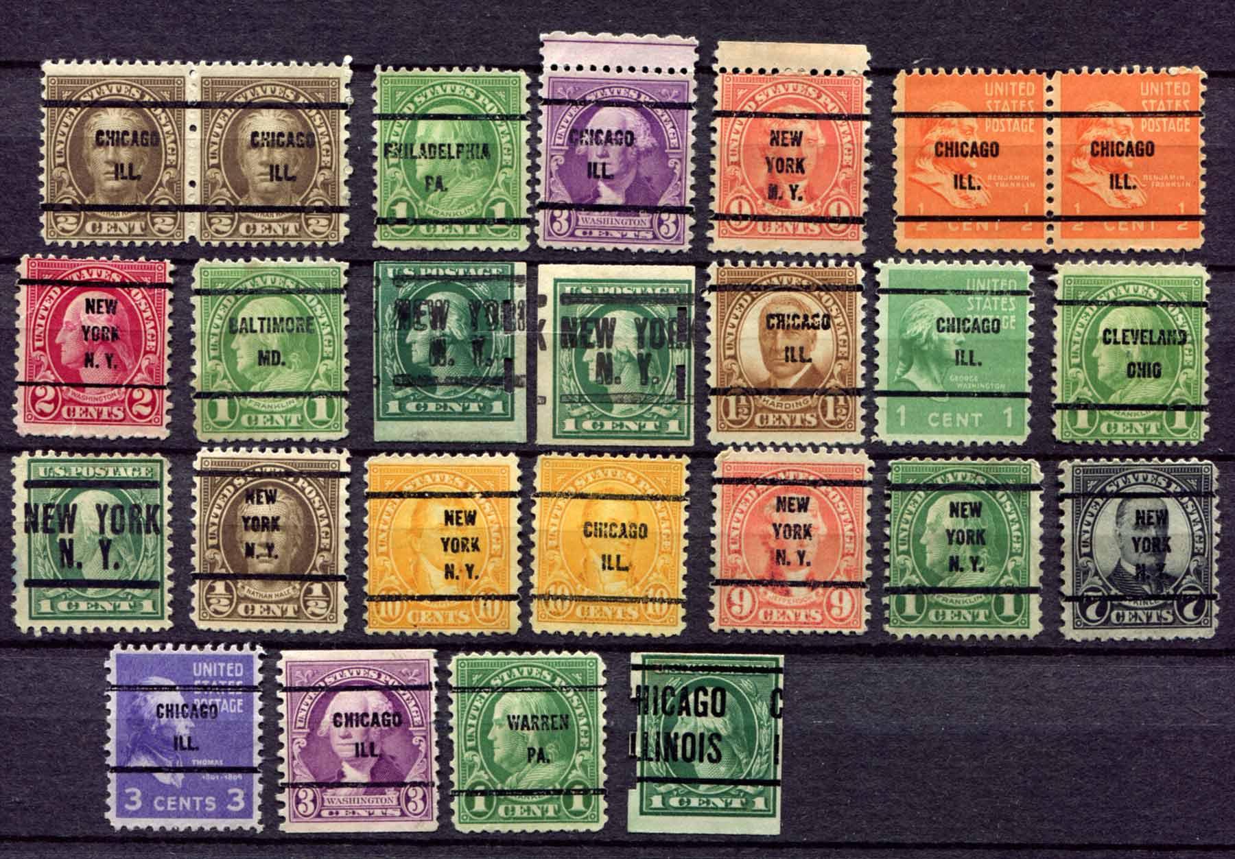 Наборы марок фото