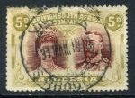 РОДЕЗИЯ 1910-3гг. GB# 143 / 5d. USED VF