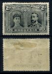 РОДЕЗИЯ 1910-3гг. GB# 130 / 2d. MH OG F-VF