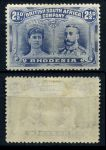 РОДЕЗИЯ 1910-3гг. GB# 131 / 2 1/2d. MH OG VF