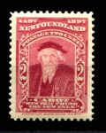 НЬЮФАУНДЛЕНД 1897г. GB# 67 / 2c. MNH OG VF