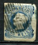 ПОРТУГАЛИЯ 1853 SC# 2 / 25r. USED F