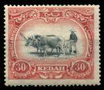 Малайя • Кедах 1921-1932 гг. • Gb# 34 • 30 c. • осн. выпуск • мулы на пашне • MH OG VF