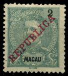 Макао • 1898-1903 г. • SC# 78 • 2 a. • король Карлуш I • стандарт • MH OG VF
