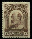 Ньюфаундленд 1911 г. • SC# 102 • 12 c. • 300-летие колонизации • Эдуард VII • MLH OG XF ( кат.- $ 75 )