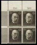 Германия 3-й рейх 1944 г. • Mi# 864(SC# B251) • 12 + 38 pf. • Роберт Кох (100 лет со дня рождения) • благотворительный выпуск • кв. блок • MNH OG Люкс!!