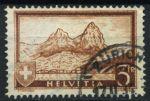 Швейцария 1931 г. • SC# 209 • 3 фр. • горы Митен • Used XF ( кат.- $8 )