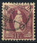 Швейцария 1891-1903 гг. • SC# 87c • 1 fr. •